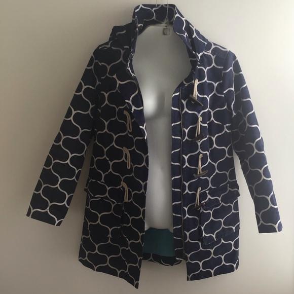 255be24ff3fb Boden Jackets & Coats | Patterned Duffle Mac Toggle Jacket6 | Poshmark